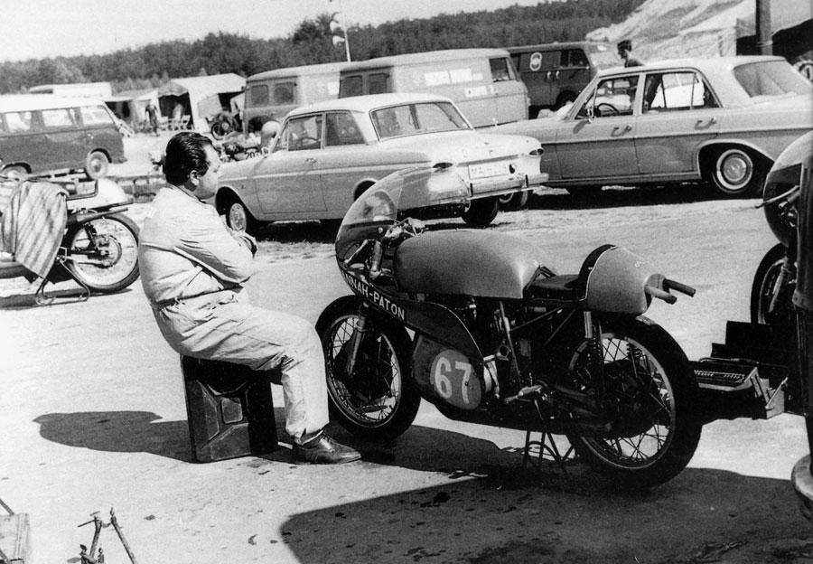 Foto Pep con Paton 250cc