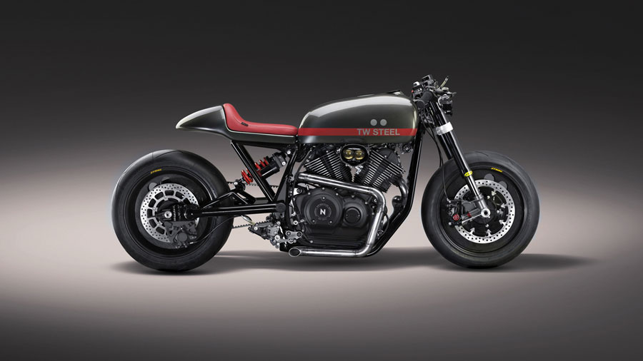 "Foto 09 Numbnut Motorcycles XV950 ""Son Of Time"""
