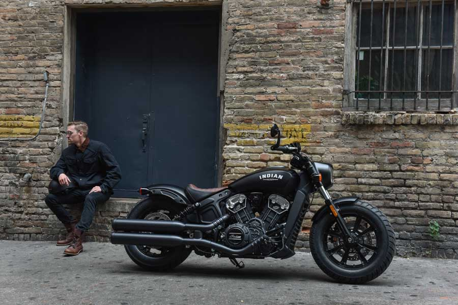 Foto 01 Indian Scout Bobber