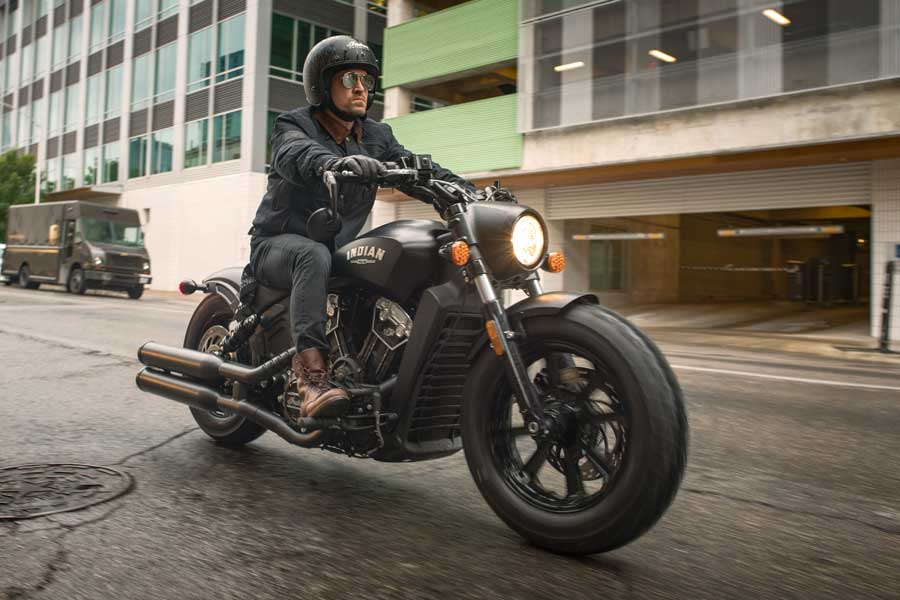 Foto 02 Indian Scout Bobber