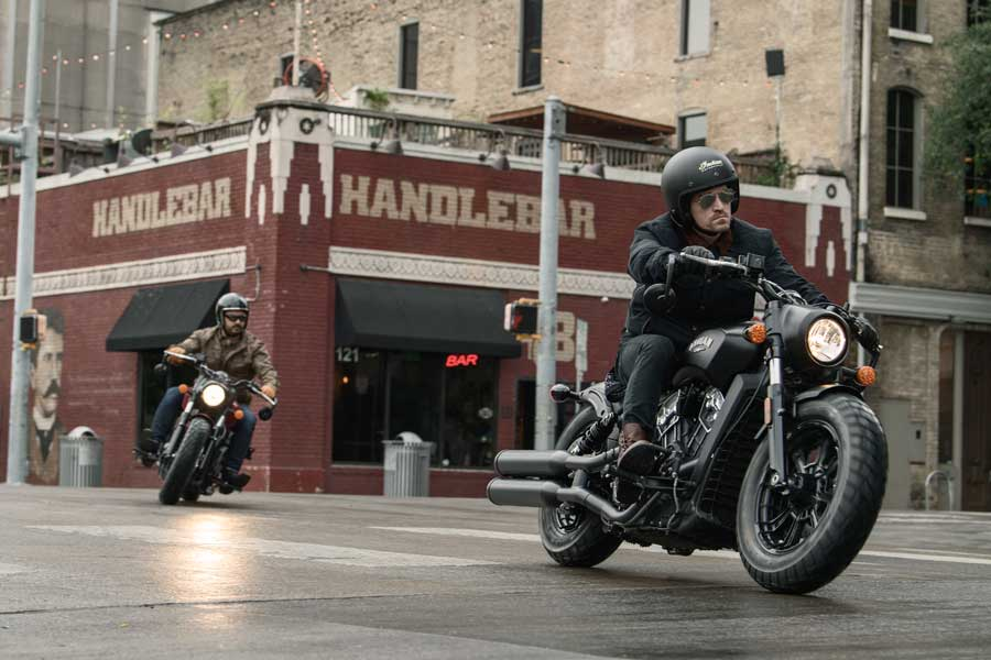 Foto 04 Indian Scout Bobber