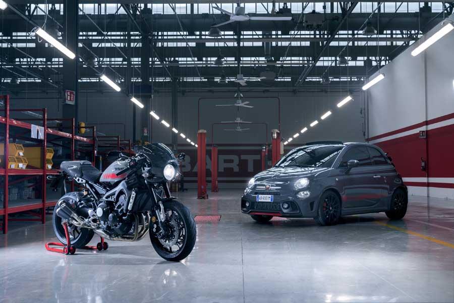 Moto Yamaha XSR900 Abarth