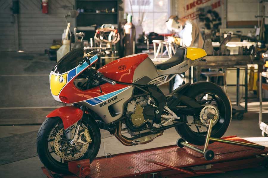 Walt Siegl Motorcycles Bol D´Or, Foto 05