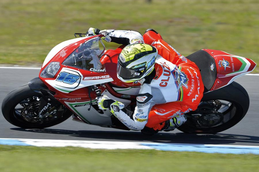 Foto Mundial Supersport 2016 de la MV Agusta F3 675