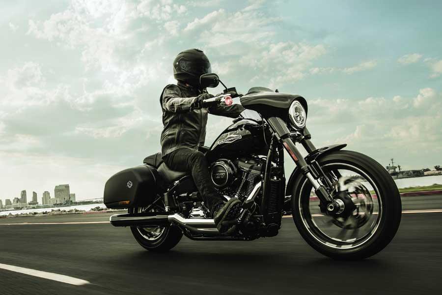 Foto 01 Harley Davidson Sport Gllide