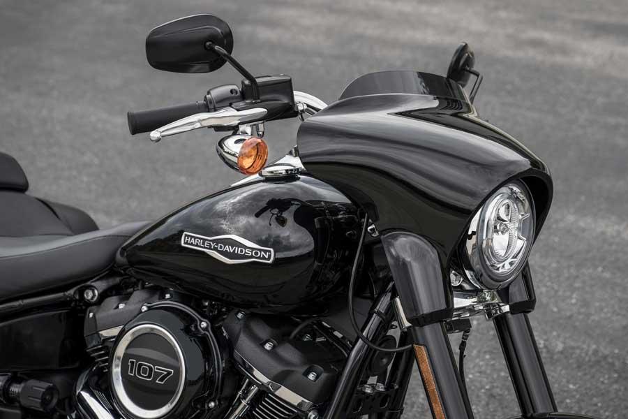 Foto 04 Harley Davidson Sport Gllide