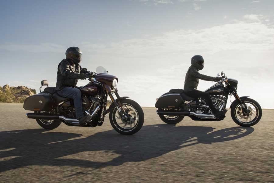 Foto 07 Harley Davidson Sport Gllide