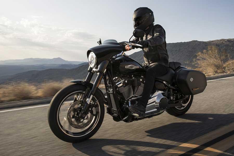 Foto 08 Harley Davidson Sport Gllide
