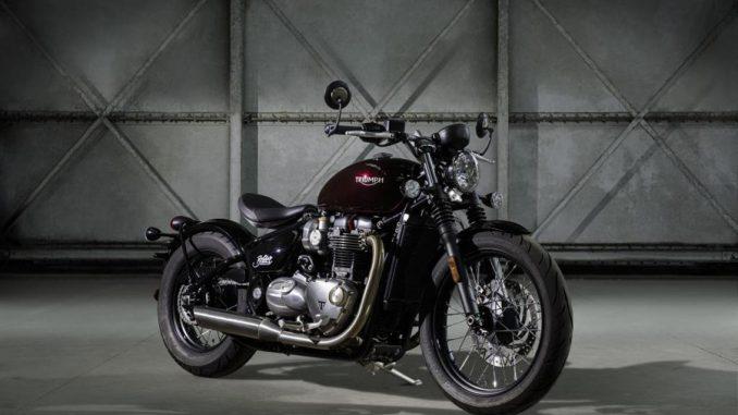 Foto 01 Triumph Bonneville Bobber
