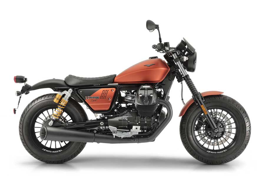 Foto 03 Moto Guzzi V9 Bobber Sport