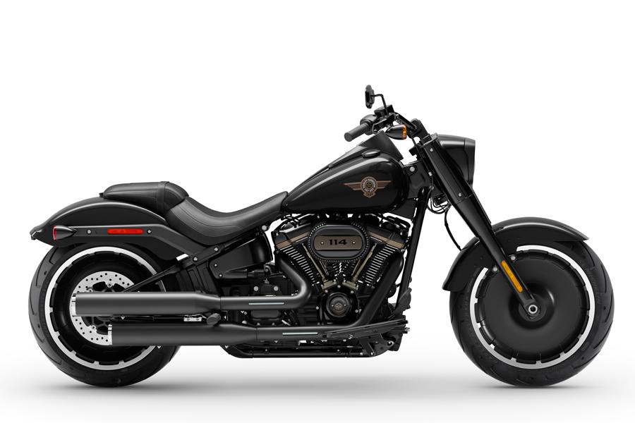 Foto 02 Harley Davidson Fat_Boy 30th