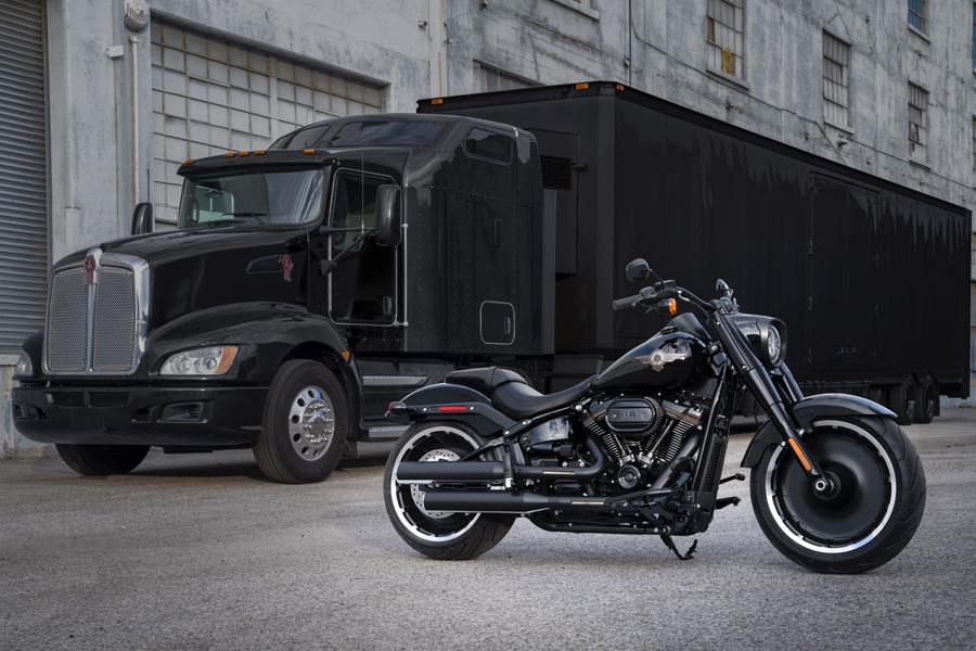 Foto 03 Harley Davidson Fat_Boy 30th