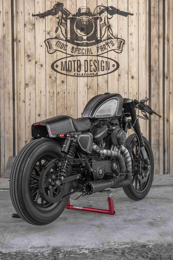 Foto 09 Moto Design Customs 1200 RS Caferacer