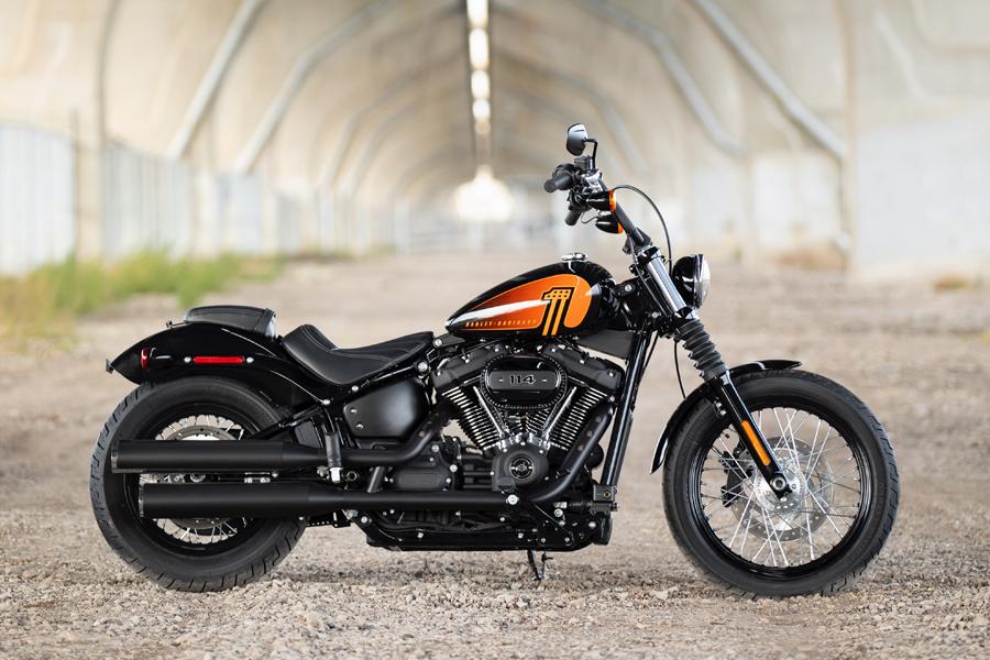 Foto 08 Harley Davidson Street Bob 114