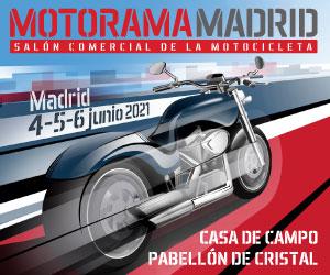 Banner Motorama Madrid 2021