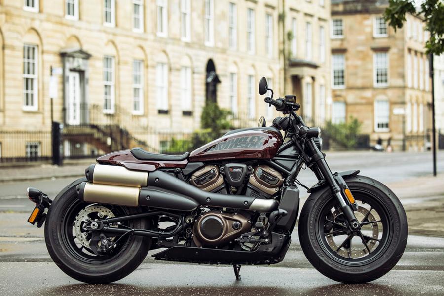 Foto 04 Harley Davidson Sportster S